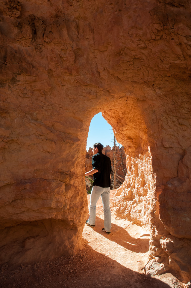 Tunnels in Bryce Canyon
