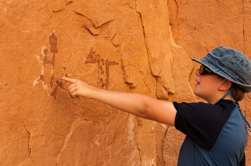 Andy makes pictographs