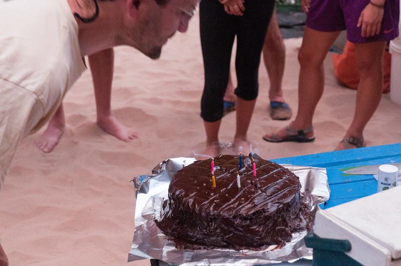 Birthday cake for David