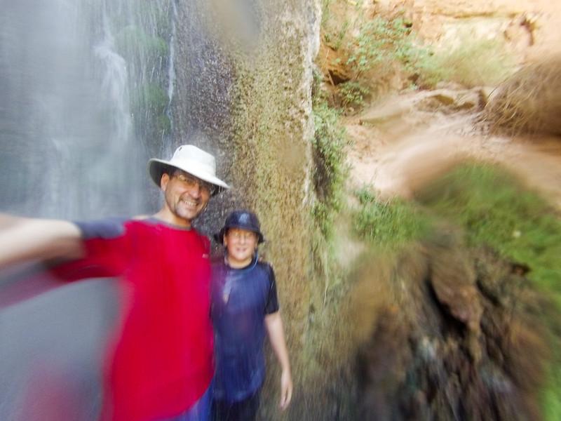 In Dutton Spring falls