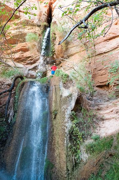 David at Dutton Spring falls