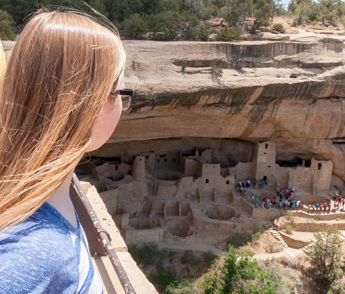 Mara at Cliff Palace
