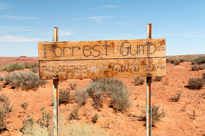 Forrest Gump, Monument Valley