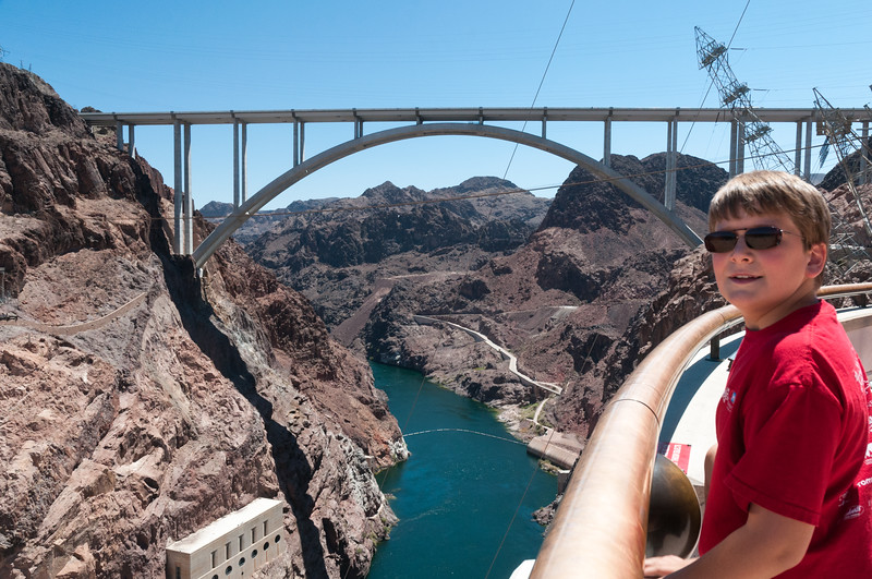 Bridge from Hoover Dam
