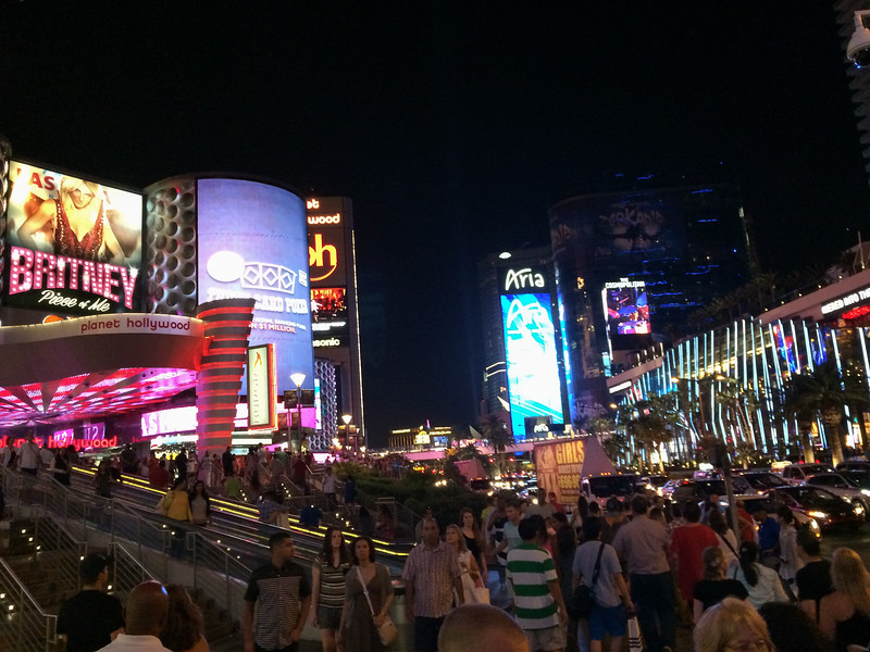 The Las Vegas Strip is a sensory overload.