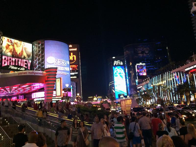 The Las Vegas Strip is a sensory overload.