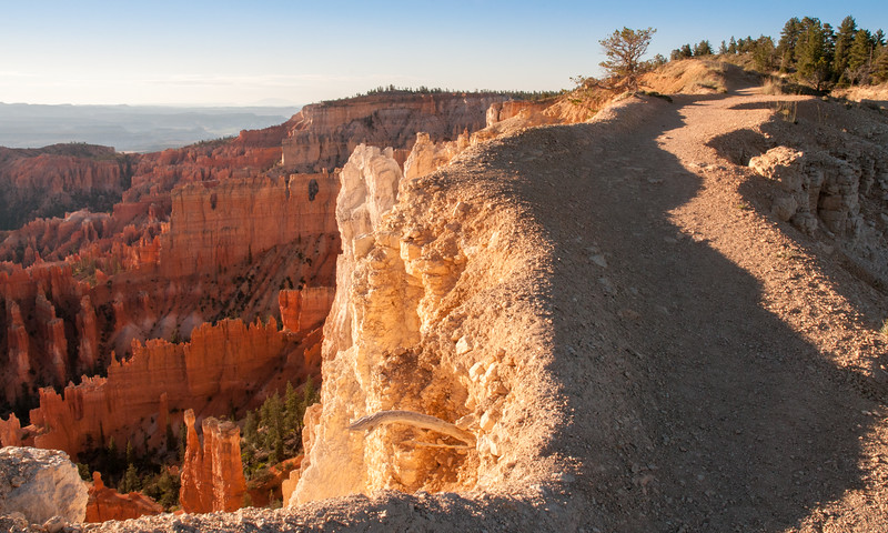 Rim trail at Bryce Canyon Amphitheater