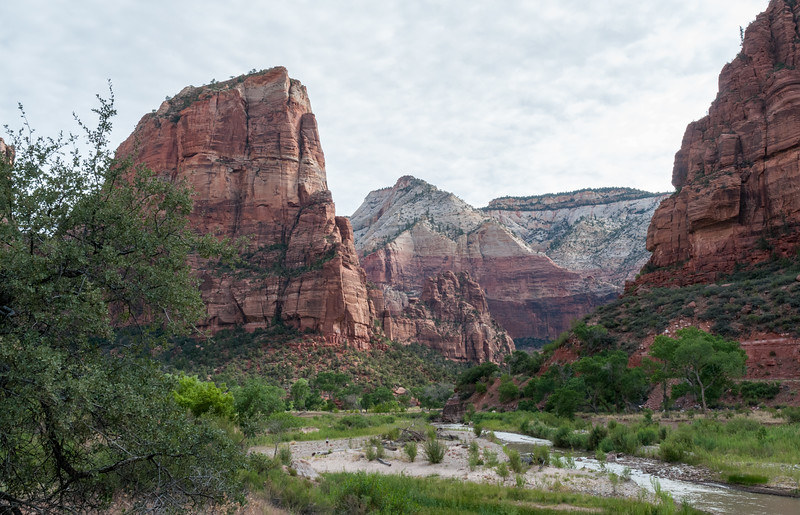 Zion Canyon and Virgin River
