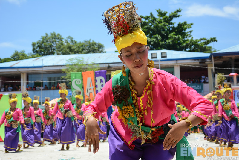 Very impressed with the pangalay skills of this lady from South Ubian