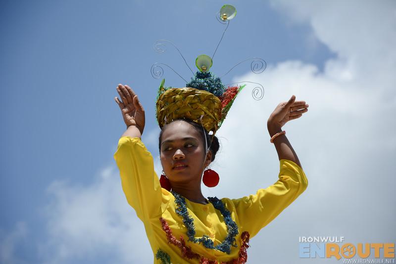 Very interesting headdress design from Panglima Sugala