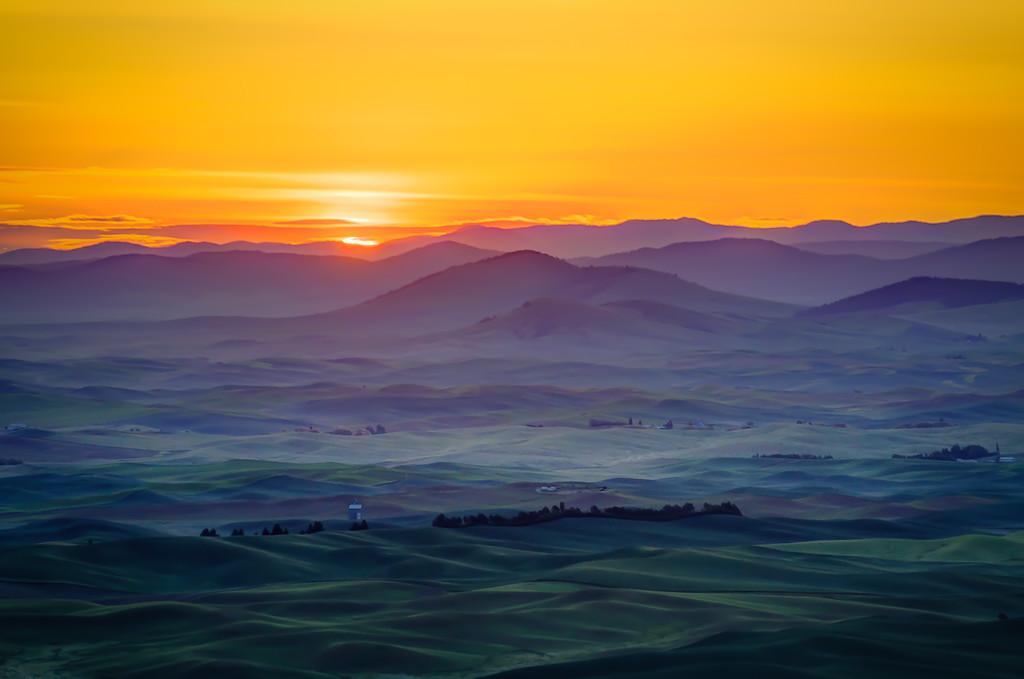 Dawn from Steptoe Butte