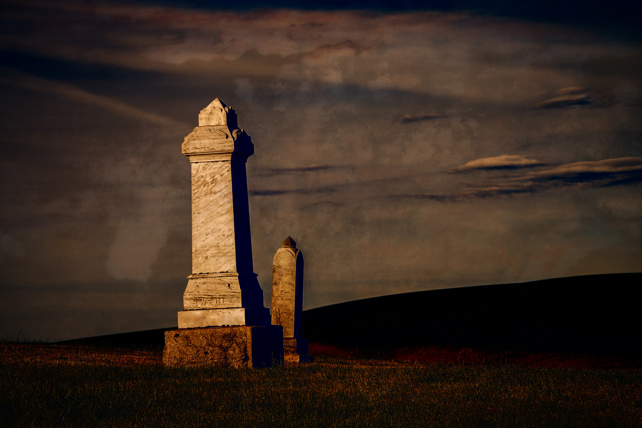 Cemetery in the Palouse