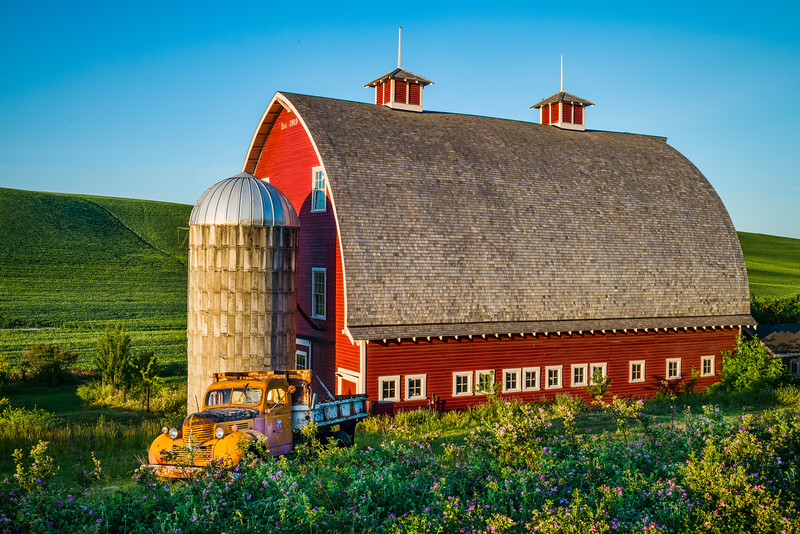 Restored Barn in Colfax, WA