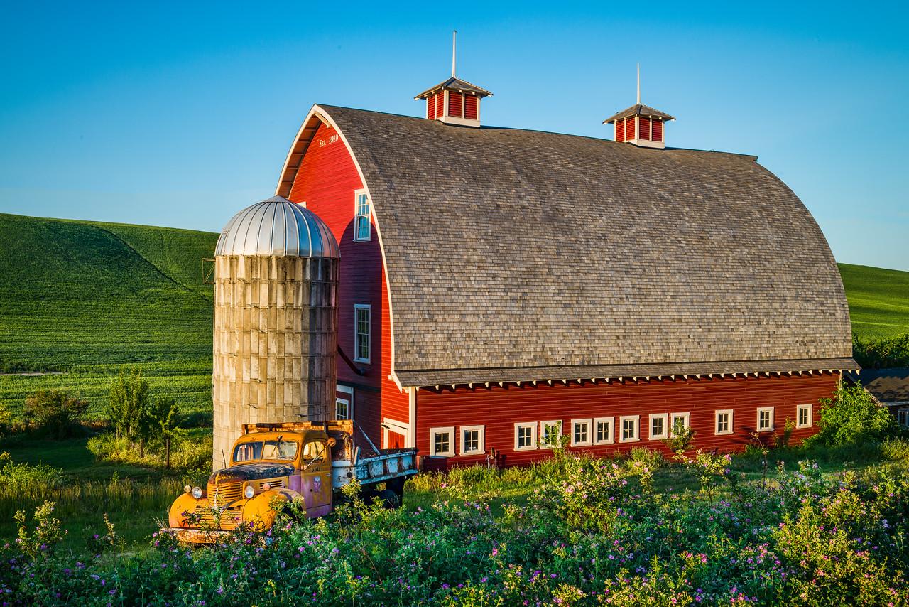 Restored Barn in Colfax, WA