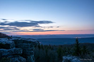 Dawn at Bear Rocks Preserve