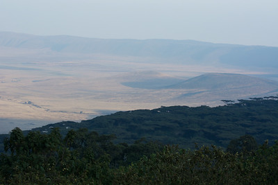Views of the Ngorongora Crater from the Sopa Lodge