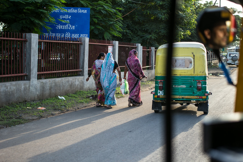 "A ride in an ""auto"" ... a motorized rickshaw."