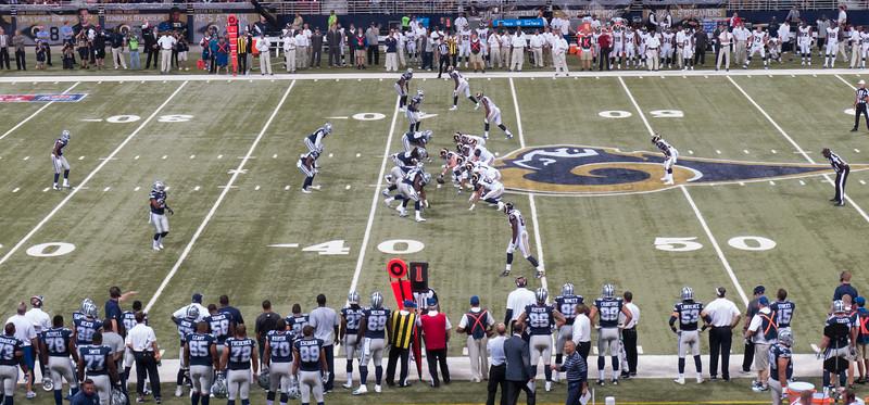St. Louis Cowboys / Rams Football Game