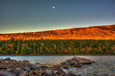 Moon Over Sunrise