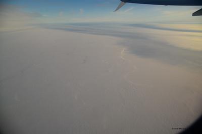 Climbing out of Barrow heading toward Fairbanks.