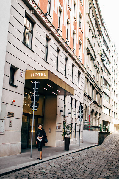 Boutique-Hotel Alma, Schwedenplatz, Vienna, May 2015