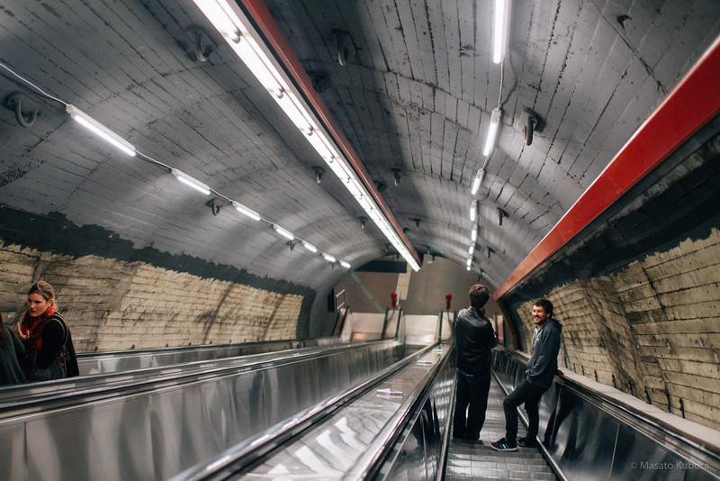 At Metro - Vienna, 2015