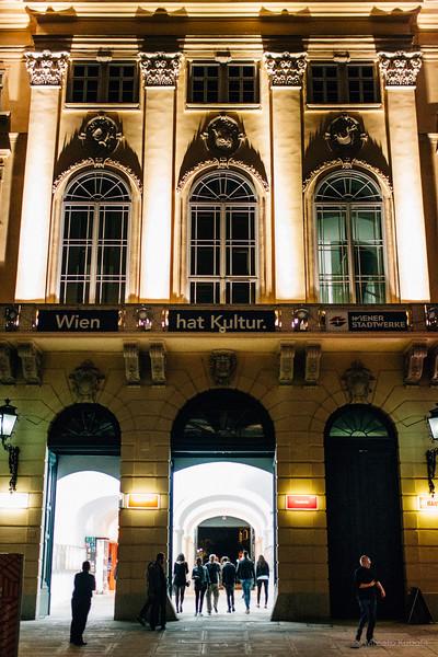 Museum Square, Vienna, May 2015
