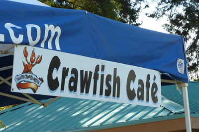 Where the crawfish was sold.