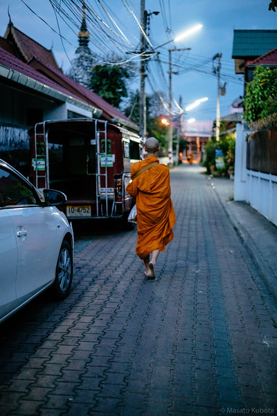 Dawn in Old City - Chiang Mai, 2015