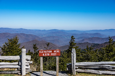 2016/04/18 Mt Mitchell, NC, State Highpoint
