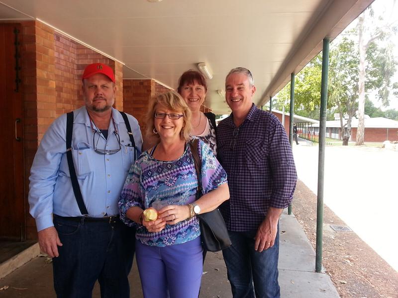 Tim, Sue, Anne, Bill.