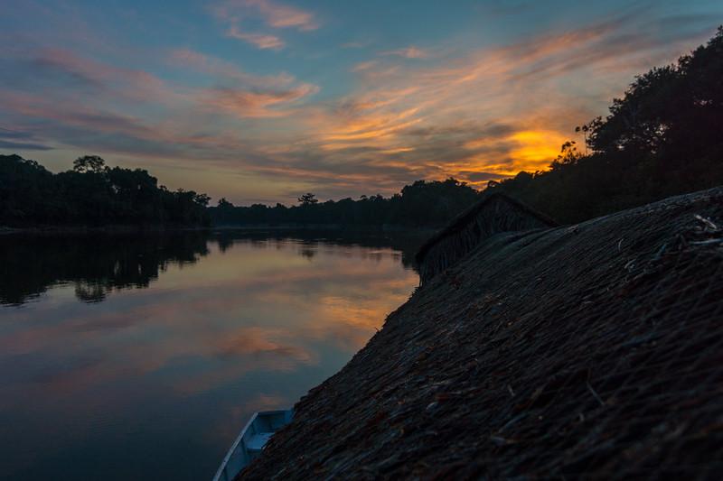 Sunrise on the Nanay