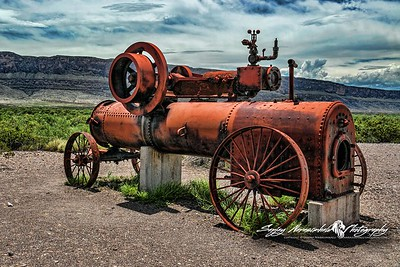 Ol' Steam Engine at Castalon, Big Bend National Park