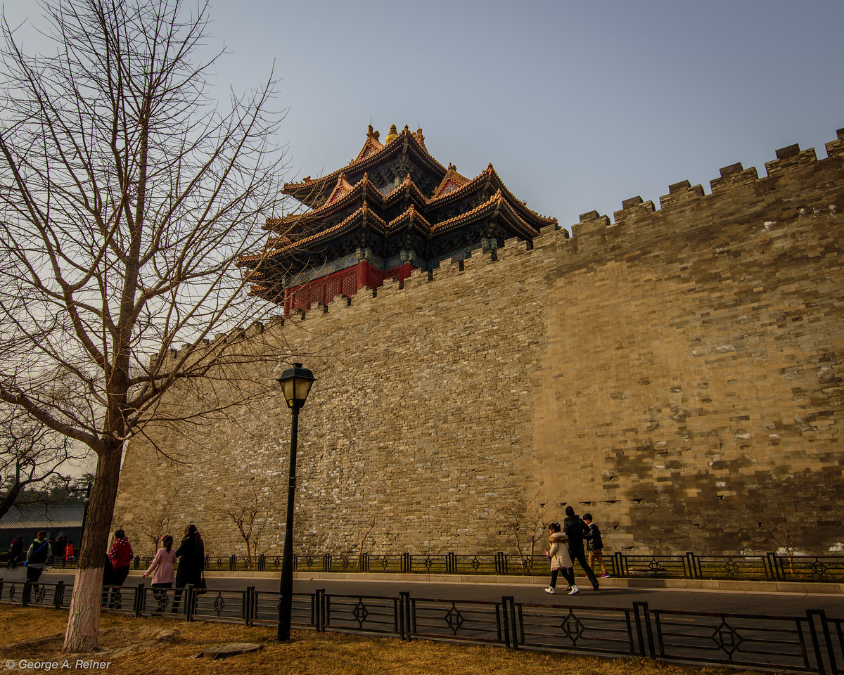 "From the outside, it does indeed look like a ""forbidden"" city."