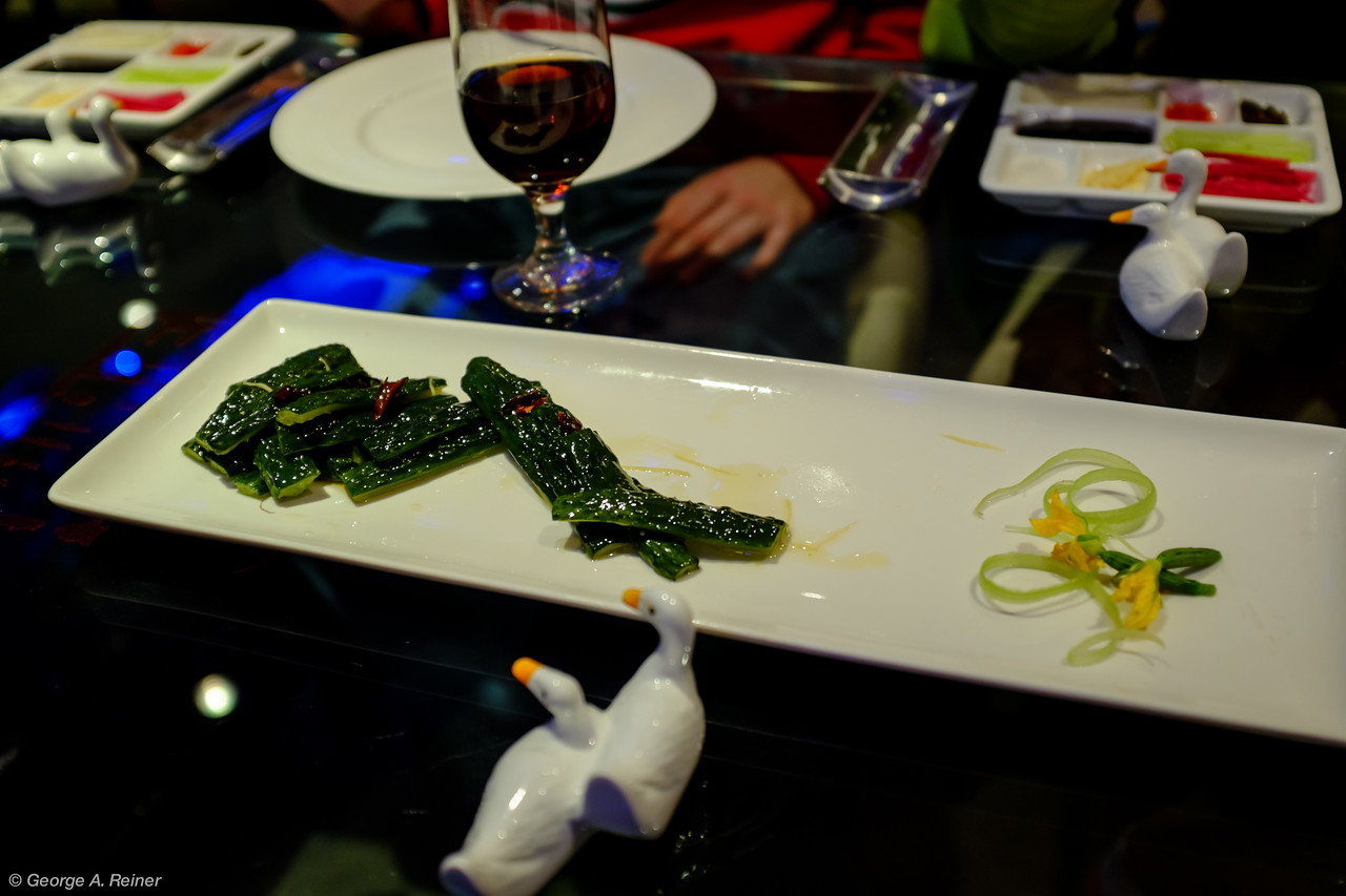 Chinese pickles - appetizer.