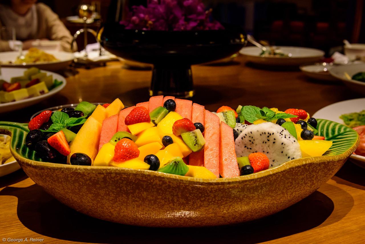 Fruit platter...