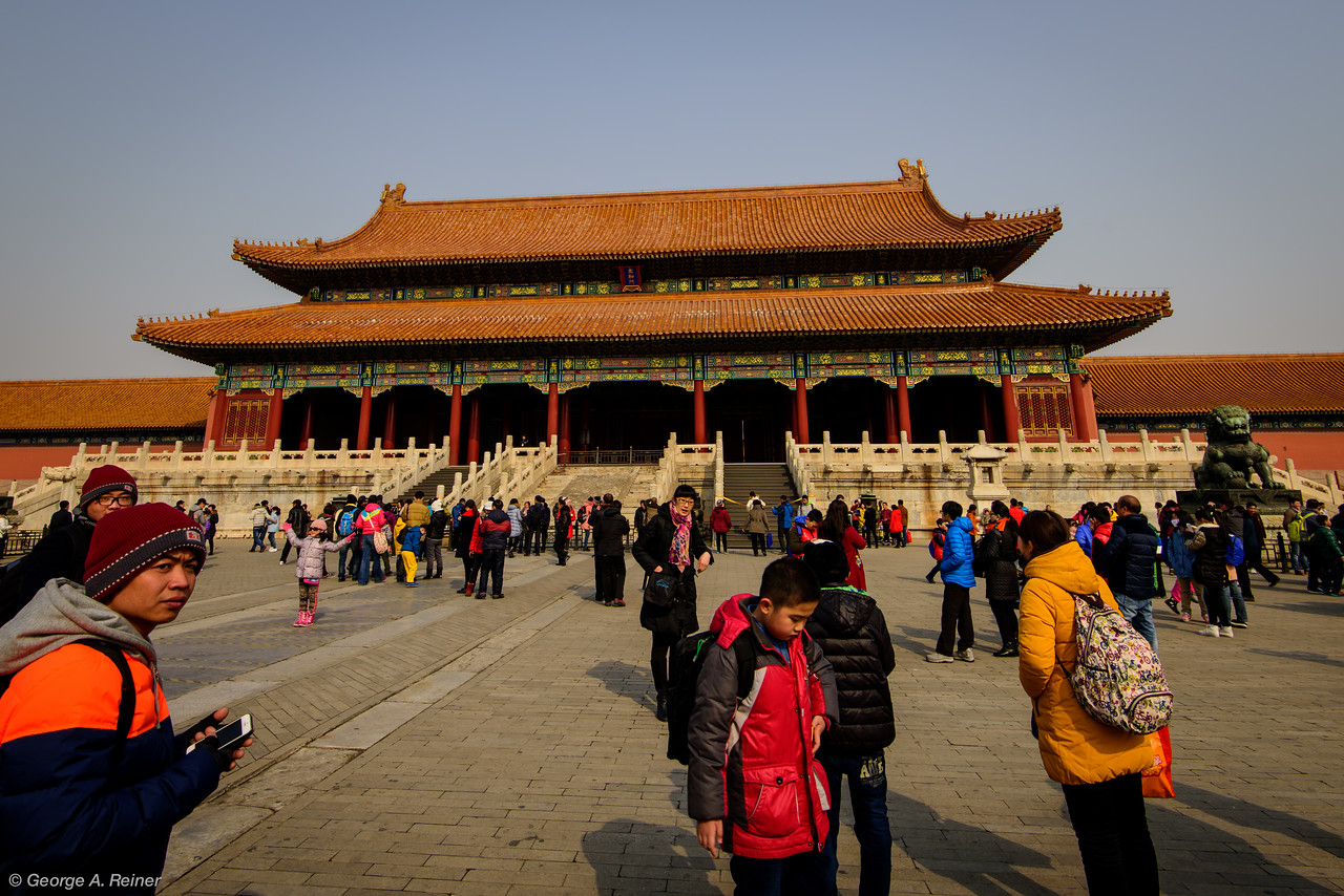 """The Palace of supreme harmony... look, I'm not going to get all these building names correct.  The reader is encouraged to look up """"Forbidden City"""" on Wikipedia for details.  Next you're going to see some photos of ancient cool Chinese buildings."""