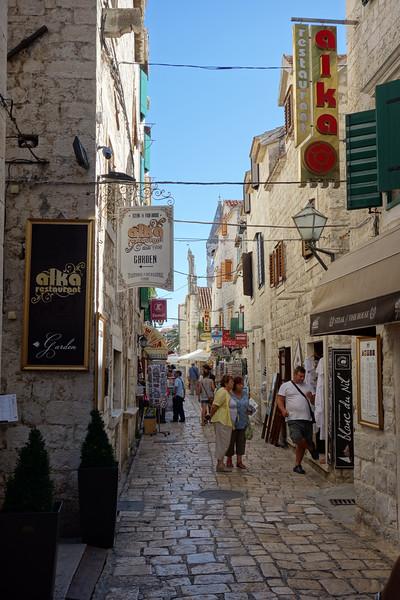 Downtown Trogir