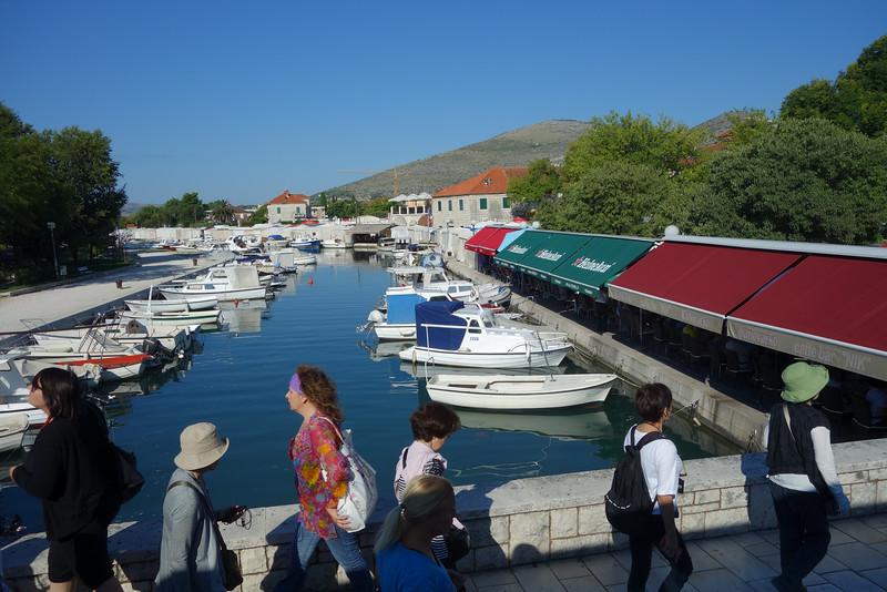Leaving Trogir