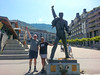 Freddie Mercury Statue, Switzerland