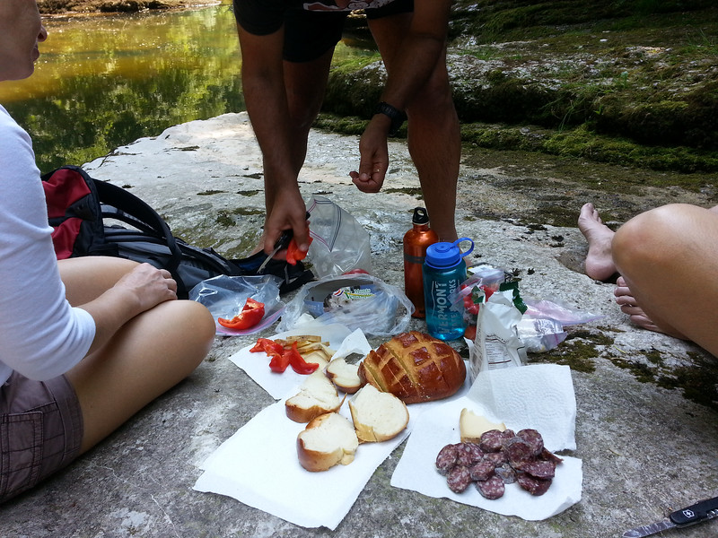 Hiking Picnic with Dani and Angela, Switzerland