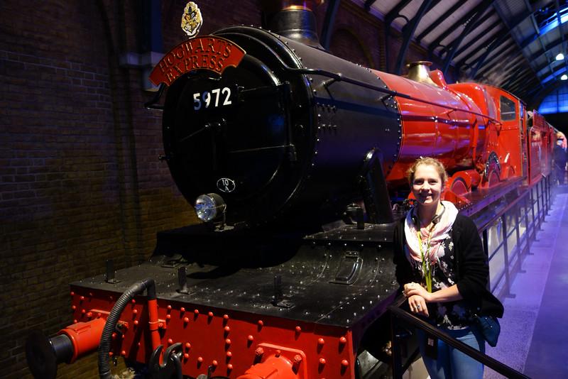 Kelli has always loved the Hogwarts Express