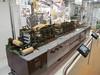 a more modern machine inside the gift shop