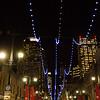 Downtown Calgary at night