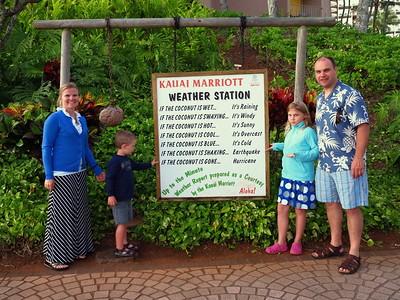 Marriott's Kaua'i weather station