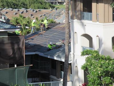 Point at Poipu roof repair