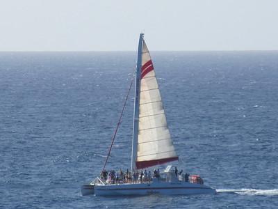 Poipu catamaran
