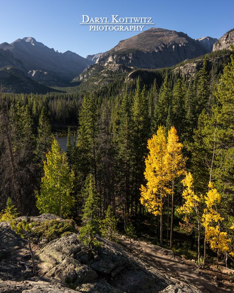 Alpine Morning Autumn Peace