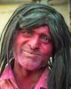 Holi Festival man, Vrindavan, India