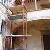 Vito Enrico and Rosa's apartment under construction in Spello